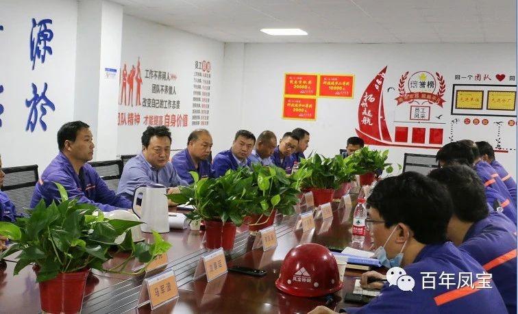 李静敏对公司电力系统和炼钢厂例行安全巡检